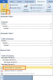 membuat daftar isi table of contents di word 2007 cara membuat daftar isi otomatis di microsoft word 2010 dailysocial