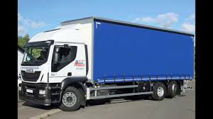 hire an iveco 26t curtain side lorry with moffett forklift
