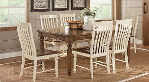 twin lakes brown 5 pc 84 in rectangle dining room dining room