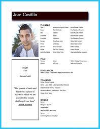 Free Acting Resume Template 53 Actor Resume Sample Sample Theater Resume Nardellidesign Com