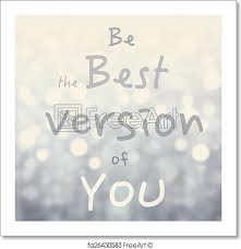 free print of beautiful motivational quote with message be the