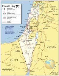 World Deserts Map by Israel Map Map Of Israel Israel Map In English