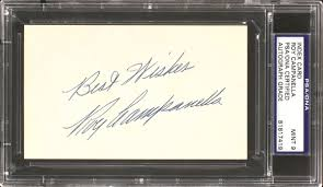 wedding autograph frame roy canella cards and autographed memorabilia guide