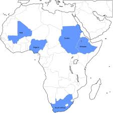 Mali Africa Map by Rationale And Design Of The African Group A Streptococcal