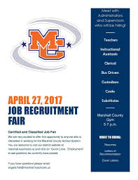 Cover Letter For Bus Driver Marshall County Schools To Host Job Fair This Month Marshall