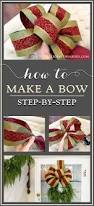 how to make a bow a step by step tutorial