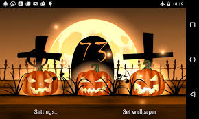 halloween background sound effects halloween live wallpaper light android apps on google play