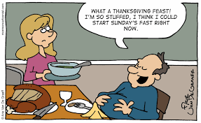 mormon cartoonist two for thanksgiving
