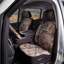 Realtree Bench Seat Covers Front Car Truck Suv Bucket Seat Covers Premium Neoprene