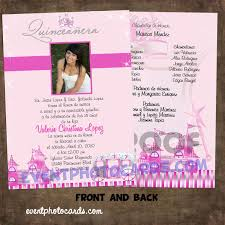 quinceaneras invitations quinceaneras invitations with