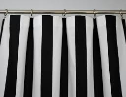 Vertical Striped Shower Curtain Black And White Vertical Striped Shower Curtain Shower Curtains