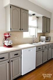 kitchen appealing painted white kitchen cabinets with appliances
