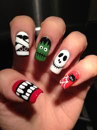 nail art halloween hallowen nails pinterest nail nail