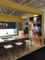 canada cucine lube showcases at the interior design show in