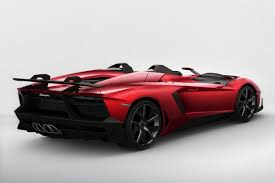 lamborghini aventador j lamborghini aventador j is a one speedster for a