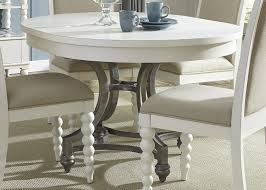 amazon com liberty furniture harbor view ii round dining table in