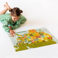 usa map puzzle for toddlers usa map floor puzzle united states puzzle petit collage