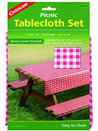 picnic table seat covers amazon com 3 piece fitted picnic table bench seat cover set