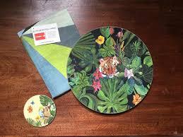 table mats and coasters jungle table mats placemats coasters avenida home