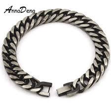 men steel bracelet images Men bracelet silver color gold color black stainless steel jpeg