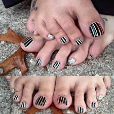 easy lace toe nail art design youtube lifebymomcom feather