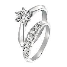 White Gold Wedding Rings by Bridal Sets U2013 Diamond Engagement U0026 Wedding Ring Sets Sam U0027s Club