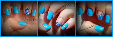 3 easy blue leopard nail art designs tutorial youtube