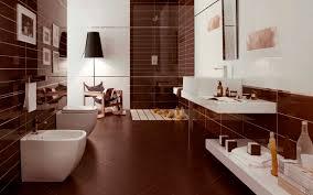 wallpaper in bathroom ideas brown bathroom ideas tjihome