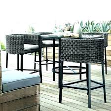 small garden bistro table and chairs small outdoor pub table incredible outdoor pub tables throughout