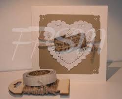 faire part soi m me mariage idée de faire part mariage à faire soi meme shabby chic coeur