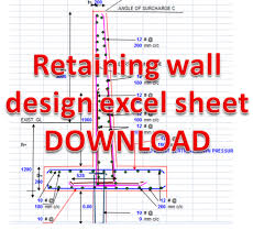 Design Of A Retaining Wall Design Ideas - Concrete wall design example