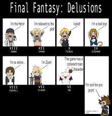 Final Fantasy Memes - final fantasy delusions by past chaser deviantart com on