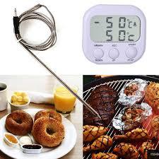 thermometre sonde cuisine alimentaire cuisine thermomètre testeur sonde bbq électronique