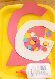 g is for gumball alphabet craft time snippets