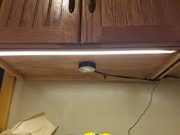 Installing Under Cabinet Puck Lighting by Under Cabinet Lighting Project Has Gotten Out Of Hand Wife Is