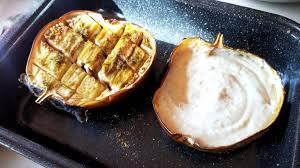 cuisiner aubergine four aubergine au four et sa sauce caviar cuisiner sans pour 100 plaisirs