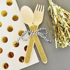 wooden party favors glitter wooden spoons forks wedding party favors candy cake