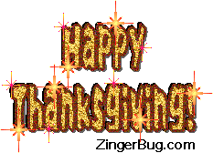 happy thanksgiving sparkle text glitter graphic greeting comment