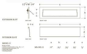 10 inch bronze letter mail slot hamilton ms 302 bp doorware com