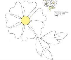 applique patterns free flower applique pattern appliqu礬 free