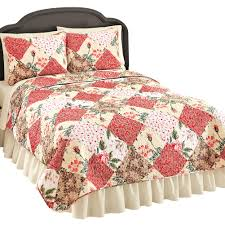 collections etc kennedy patchwork quilt set
