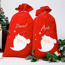 personalized santa sack personalised santa sacks personalised santa sacks ireland
