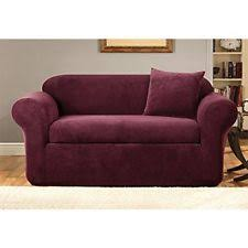 Sure Fit 3 Piece Sofa Slipcover by 3 Seater Sofa Sure Fit Solid Furniture Slipcovers Ebay