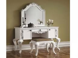White Bedroom Vanities Stunning White Bedroom Vanity Contemporary Rugoingmyway Us