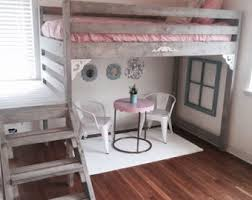 Extra Long Twin Loft Bed Designs by Loft Bed Etsy