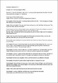 the scarlet letter chapter 19 group skit script american