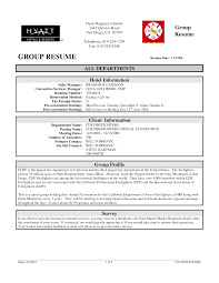 Resume Examples For Sales Manager Professional Group All Departments Hotel Sales Manager Resume