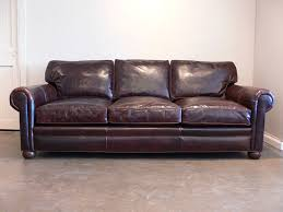 Brompton Leather Sofa Our Langston Leather Sofa Marries Beautiful Brompton Cocoa Leather