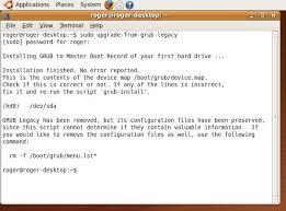 Missing Man Table Script Grub 2 Bootloader Full Tutorial