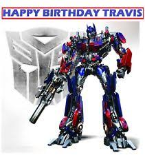 transformers cake toppers transformers party supply cake toppers ebay